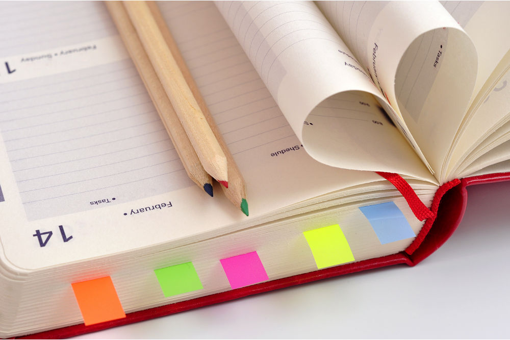 How to customize your planner?