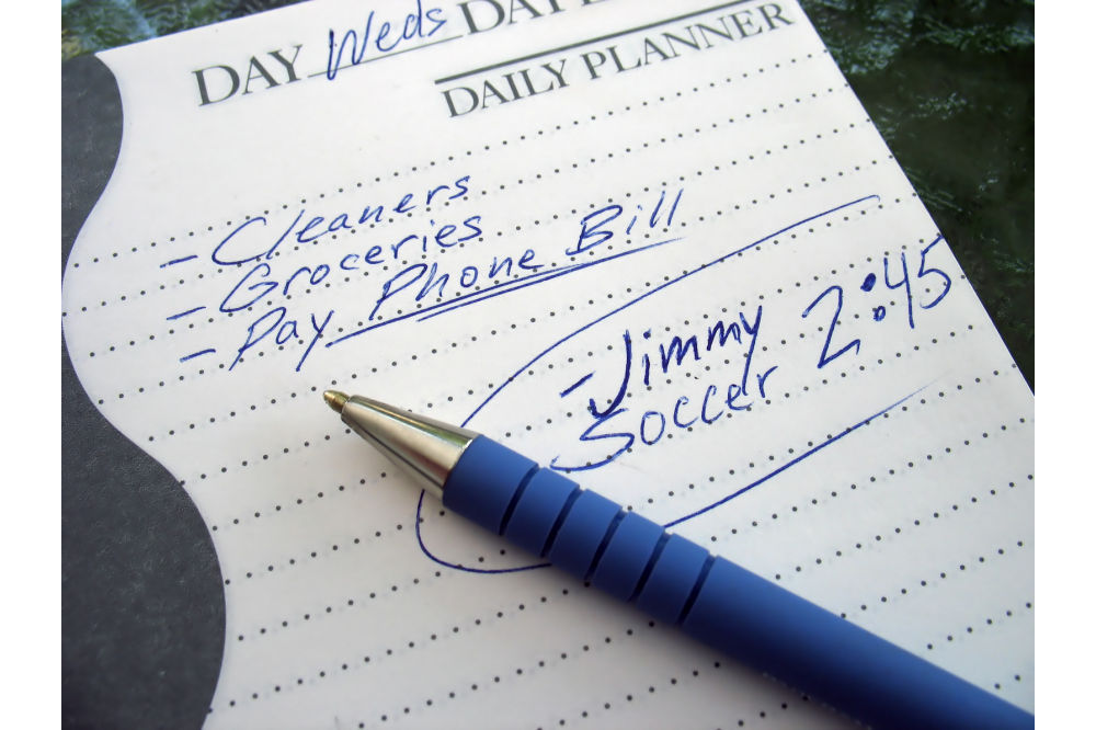 How to organize your planner?