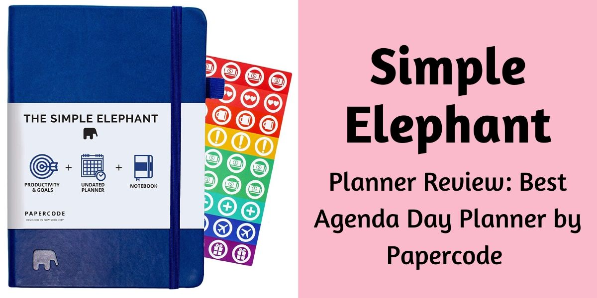 Simple Elephant Planner Review