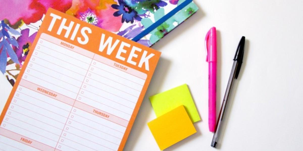Weekly Planner Pads